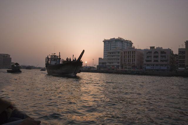 Dubai Creek Sunset