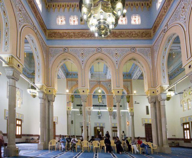Dubai Jumeirah Mosque Interior