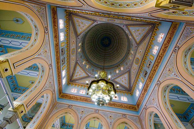 Dubai Jumeirah Mosque Interior 04