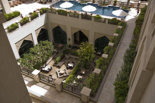 Dubai Al Manzil Courtyard