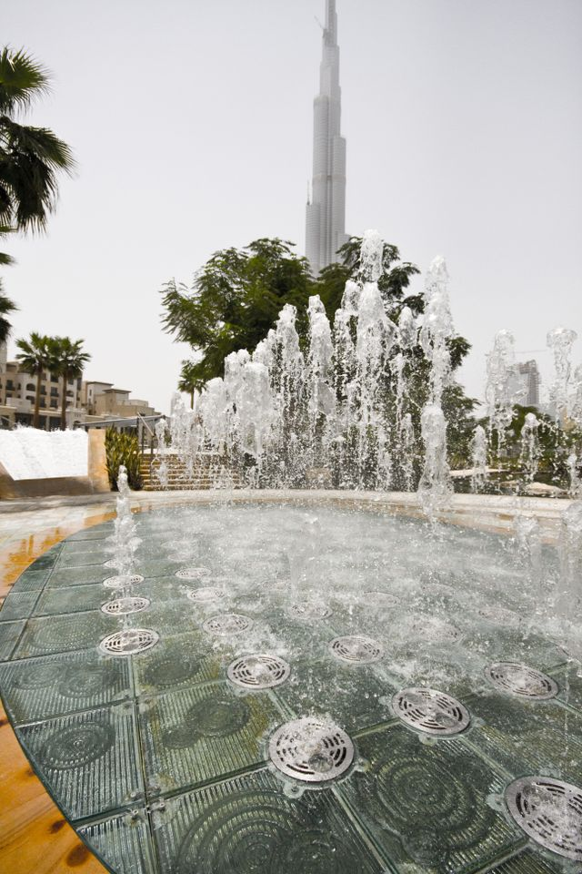 Dubai Water Features